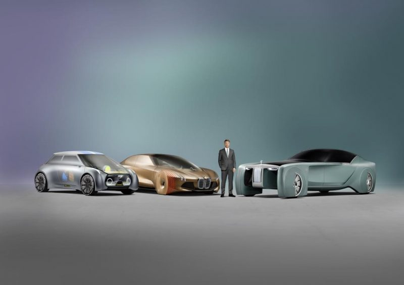 BMW Group VISION NEXT 100 Vehicles