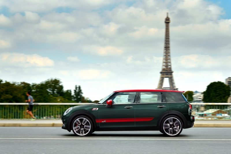 MINI John Cooper Works Clubman in Paris