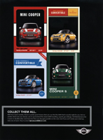 MINI cards ad