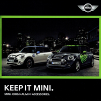 KEEP IT MINI. MINI. ORIGINAL ACCESSORIES. 2015