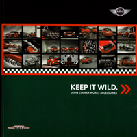 KEEP IT WILD. JOHN COOPER WORKS ACCESSORIES