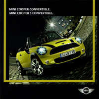 MINI Convertible brochure 2009