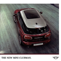 2016 MINI Clubman brochure