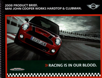 2008 PRODUCT BRIEF. JCW