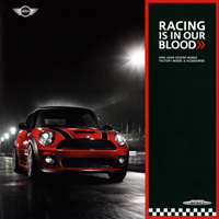 RACING IS IN OUR BLOOD brochure