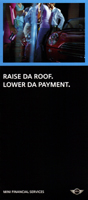 RAISE DA ROOF. LOWER DA PAYMENT.