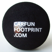Carfun Footprint antenna ball