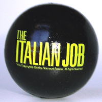 The Italian Job antenna ball (black)