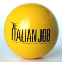 The Italian Job antenna ball (yellow)