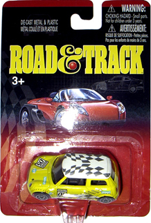 Road & Track die-cast MINI Cooper