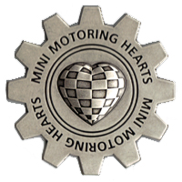 MINI Motoring Hearts grille badge