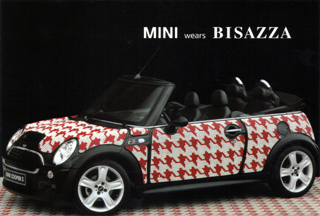 MINI wears BISAZZA postcard (Fifth)
