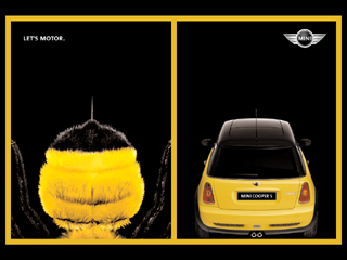 LET'S MOTOR poster (bee)