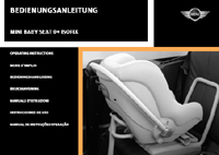 Operating Instructions: MINI Baby Seat