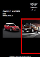 Owner's Manual (2013 Hardtop / Clubman)
