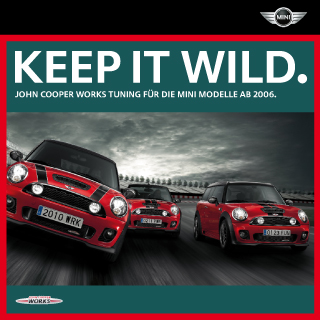 German JCW accessories catalog