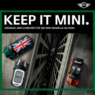 German MINI accessories catalog
