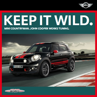 German MINI Countryman accessories catalog