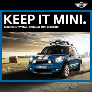 German MINI Countryman JCW accessories catalog