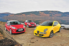 MINI Cooper S vs. Citroen DS3 vs. Alfa Romeo MiTo