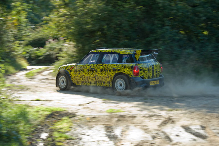 Prodrive MINI Countryman WRC first photo