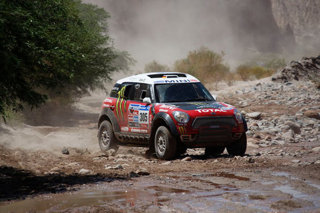 Dakar 2011 stage 3 MINI Countryman