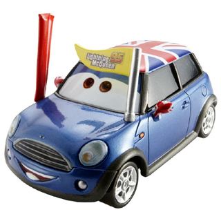Disney Pixar Cars 2 MINI Cooper