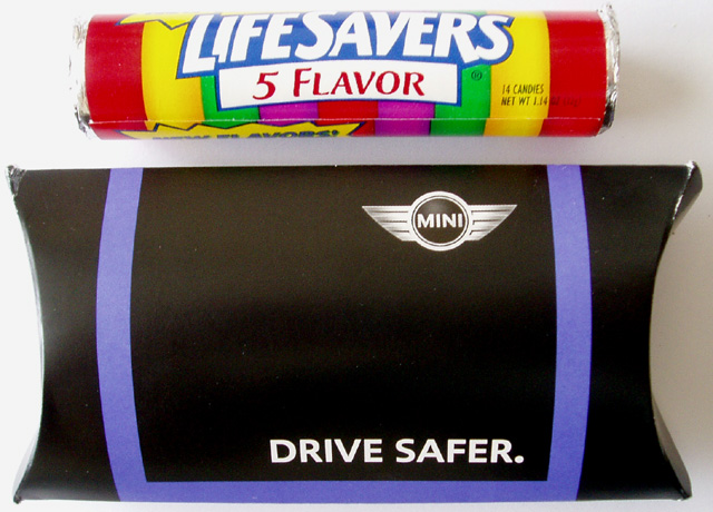DRIVE SAFER. Life Savers