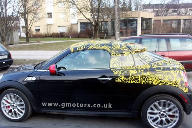 MINI Coupé spy photo