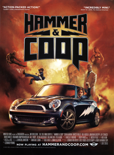 Hammer and Coop poster ad