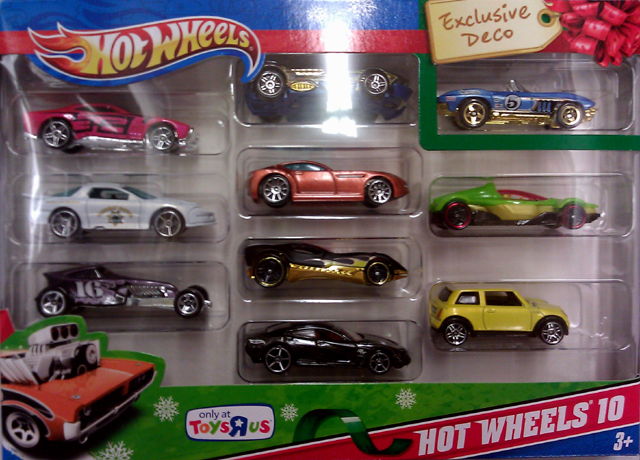 "Hot Wheels Toys""R""Us 10 Pack"
