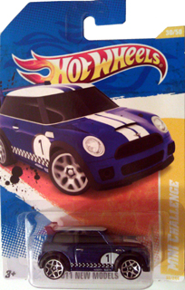 Hot Wheels 2011 MINI CHALLENGE (blue)