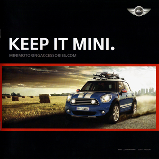 KEEP IT MINI. MINI COUNTRYMAN 2011-PRESENT