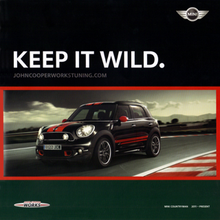 KEEP IT WILD. MINI COUNTRYMAN 2011-PRESENT