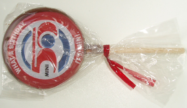 MINI 50 chocolate lollipop