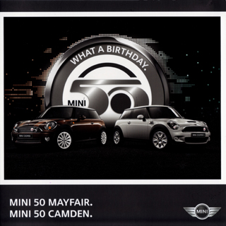 MINI 50 MAYFAIR. MINI 50 CAMDEN. brochure