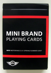 MINI BRAND PLAYING CARDS