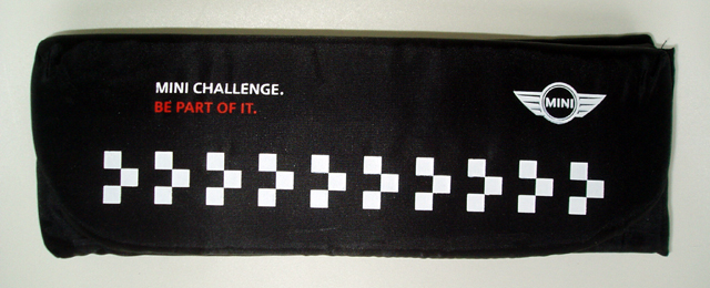 MINI CHALLENGE seat cushion (folded)