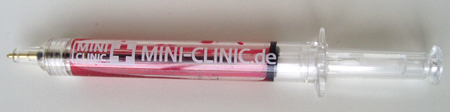 MINI Clinic syringe pen