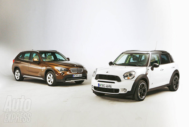 MINI Countryman vs. BMW X1