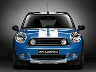 MINI Countryman Off-Road Design Kit (front)