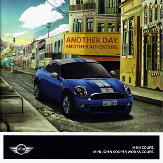 German MINI Coupé brochure [2012]