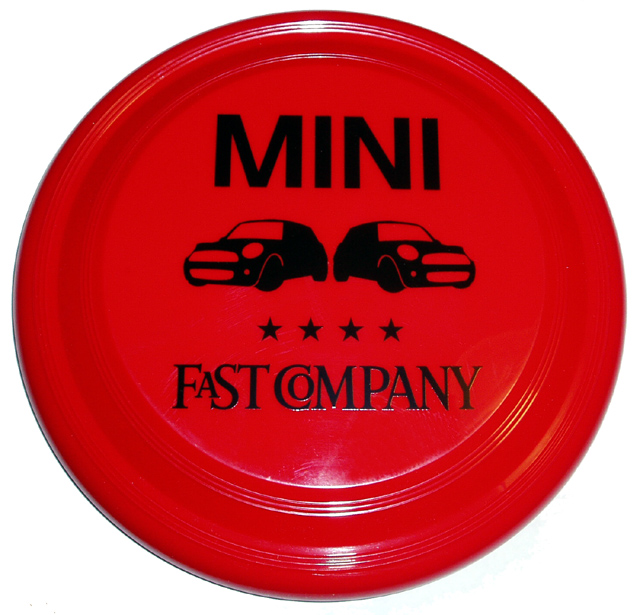 MINI-FastCompany frisbee
