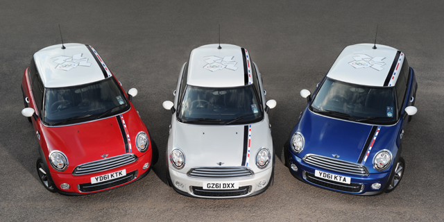 MINI London 2012 special edition