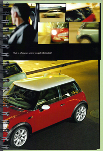 MINI ONE. MINI COOPER. brochure (2001) (page 15)