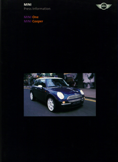 MINI One MINI Cooper Press Information (2001)