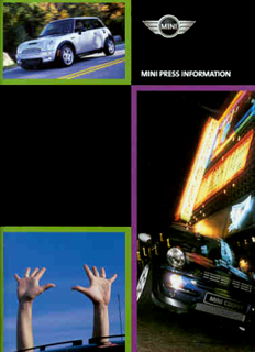 MINI Press Information (2002)