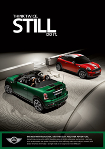 MINI Roadster print ad 2