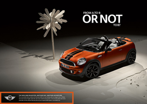 MINI Roadster print ad 3