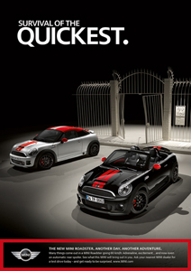 MINI Roadster print ad 4